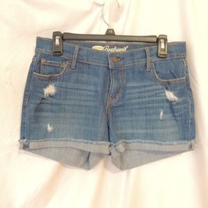 Old navy womens boyfriend cuffed shorts size 4